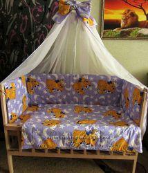 Комплекты постельного белья для новорожденных 9 в 1