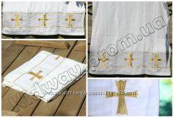 Крестильное полотенце-крыжма