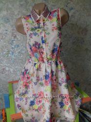 Яркое платье George с расшитым пайетками воротником