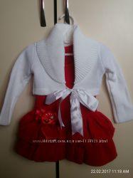 Нарядное платье для девочки  на Новый год