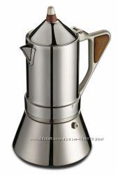 Кофеварка Гейзерная  GAT  Regina. И для индукционных плит