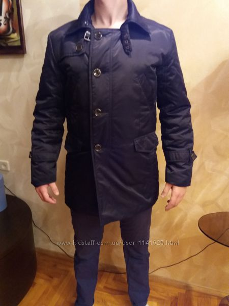 Стильное пальто мужское