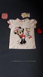 Футболка Minnie Mouse Disney 6 месяцев