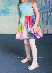 Платье хлопок до 126см