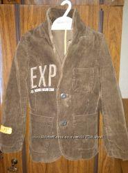 Классный вельветовый пиджак на стилягу р. 92