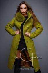 Зимние женские кашемировые, шерстяноые пальто 2017