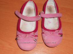 Розовые нубуковые туфельки Cool Club