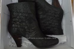 Шикарные ботинки Nine West р. 39 кожа бу 1 раз