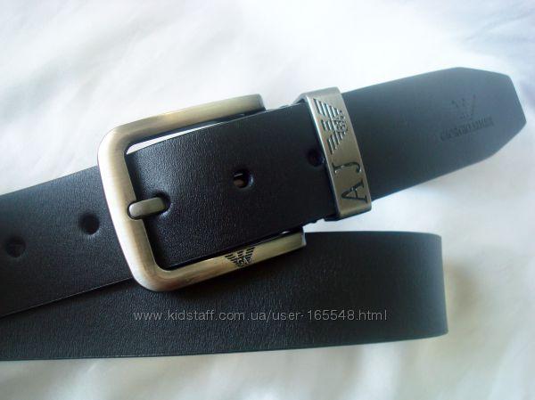 Модные  кожаные ремни GIORGIO ARMANI