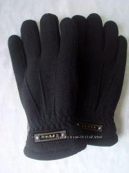 Теплые мужские флисовые перчатки на меху
