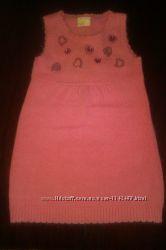 Сарафан из ангоры нежно-розового цвета на рост 116 сма Делорас рост 116