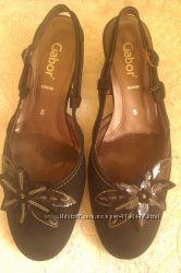 Продам туфли с открытым задником GABOR