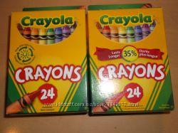 Продам восковые карандаши Crayola 24шт
