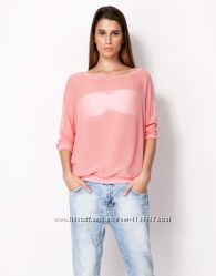 Полупрозрачная блузка BERSHKA