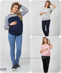 Трикотажні брючки для вагітних