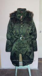 Теплая куртка на искусственном меху velami