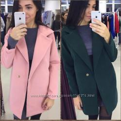 Пальто кашемир свободного кроя пальто пиджак с воротником стильное ... 47dc54d74a4a6