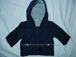 Демисезонная курточка на малыша 0-3 мес. ,62 см, состояние новой
