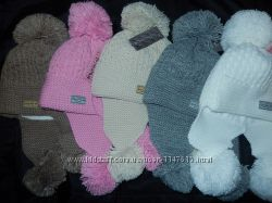 Классные шапки-ушанки с бубонами, зима, на флисе, 50-54 см