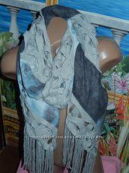 Классный шарф необычной формы, сток