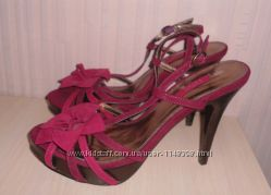 Новые туфли, босоножки Next р-р 639, кожа, Италия, Оригинал