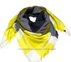 Стильный тёплый платок - шерсть