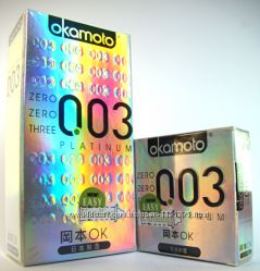 Японские презервативы Okamoto