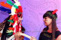 Индейцы на детский праздник. АНИМАТОРЫ. ХАРЬКОВ