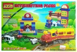 Железная дорога - конструктор Jixin 6188B