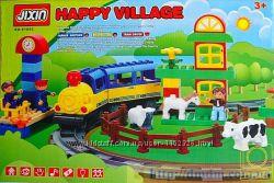 Железная дорога - конструктор Jixin 6188С