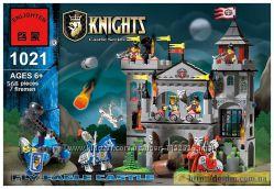 Конструктор - Knights - Замок короля Enlighten 1021