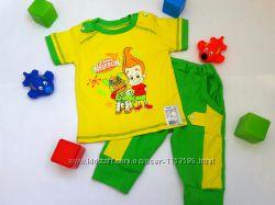 Комплект для мальчика  футболка и бриджи