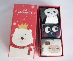 Женские носки Caramella. Подарочный набор. 3 пары