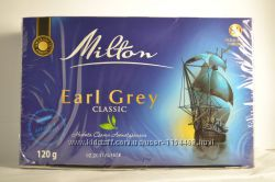 Чай Milton earl grey с бергамотом 80 пакетиков