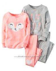 Пижамки Carter&acutes 18 мес-5t котоновые и флисовые