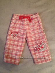 теплые штаны для девочки 74, 80, 86