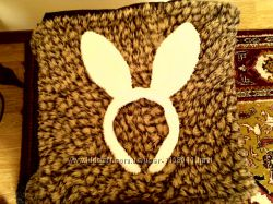 Новорічні вушка для костюма зайчика