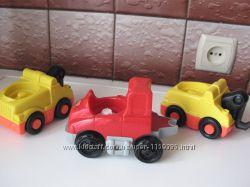 Fisher Price Little People машинки озвучены для малышей
