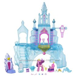 замок My Little Pony crystal empire castle кристальный замок пони
