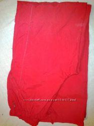 Cпортивные ярко-красные брюки утепленные