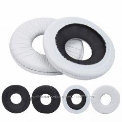 Амбушюры для Sony MDR-V150 V250 V300 V100  V200 ZX100 ZX300 Черные и белые