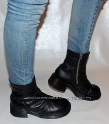 Ботинки 40 р Dr Martens Англия кожа, оригинал демисезон