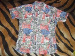 Легкая рубашка подростку на лето