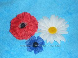 Цветок насадка Мак красный