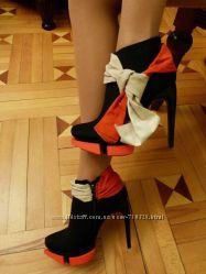 ботильоны платок в двух цветах