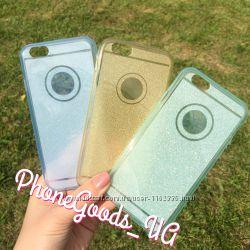 Красивые, необычные силиконовые чехлы на IPhone6, 6S