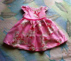 Очень красивое платье 9-12мес