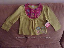 Новая красивая кофта блузка ТМ Мах на 12-18 мес большемерит