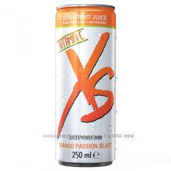 Дешево от Amway XS Энергетический напиток со вкусом манго и маракуйи