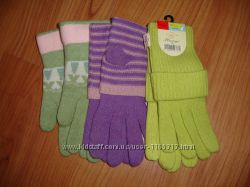 перчатки  подростковые девичьи